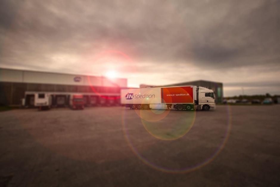 JN-spedition Truck