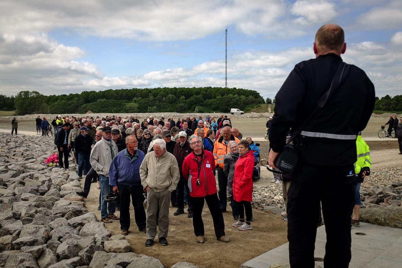 Borgere på visit til Nordstrandåbning