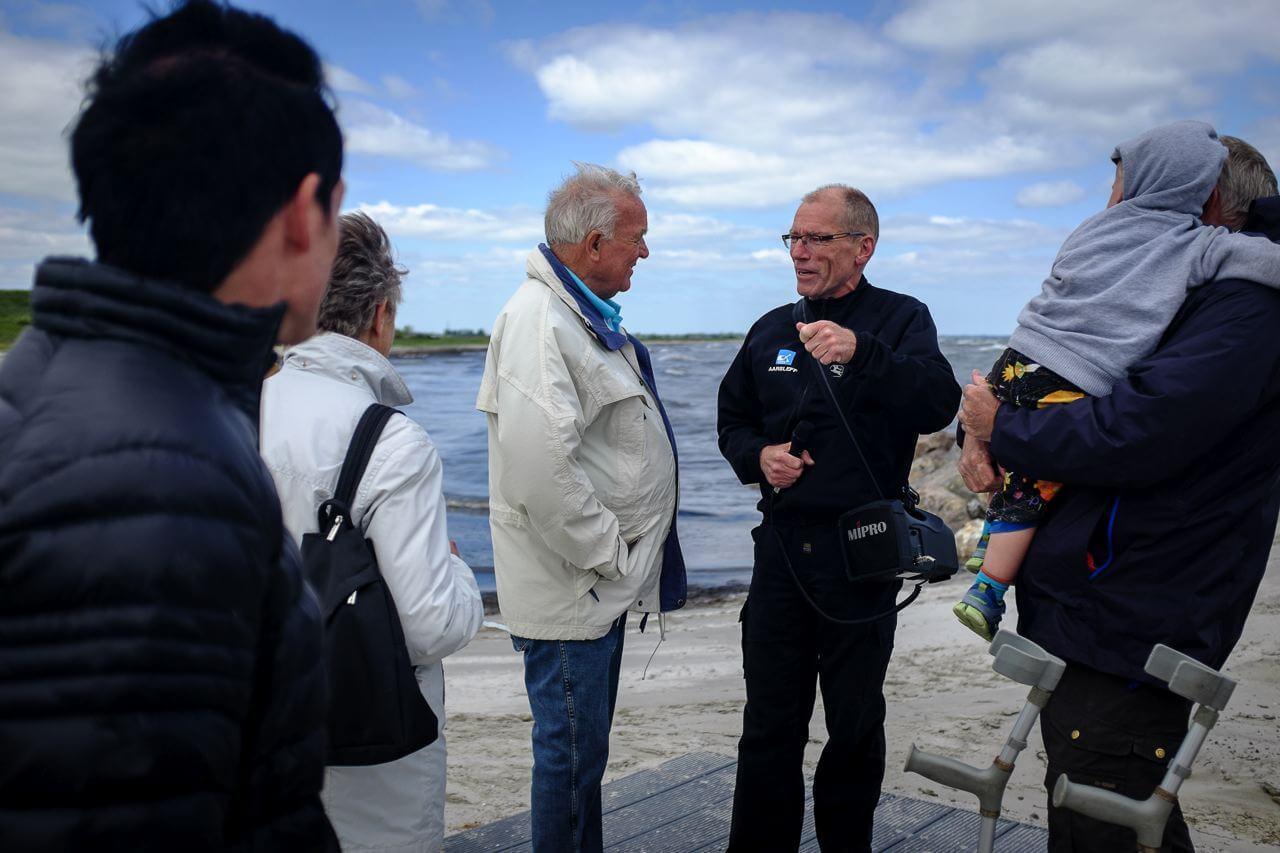 Jan Fogtman forklarer anlægsprojekt