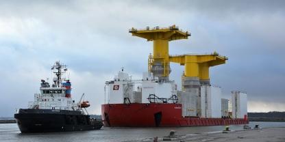 """Pressemeddelelse: KØGE HAVN - base for fartøjer til """"Kriegers Flak"""""""