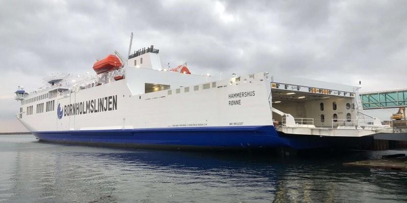 Sprit nyt skib klar til ruten imellem Rønne og Køge
