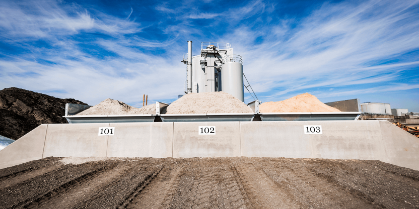 NCC opens a new factory in Køge for the production of kiln-dried sand